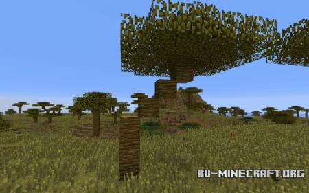 Биом Саванна в Minecraft