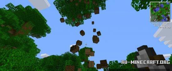 Скачать мод на Круглые Деревья