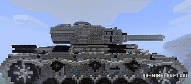Скачать карту 1939 WWII Tank для Minecraft