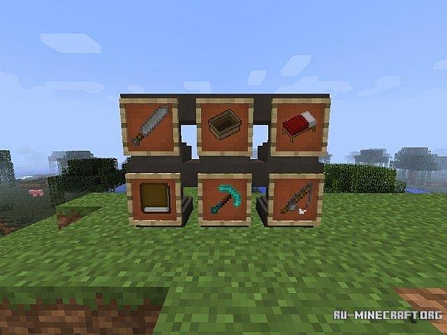 скачать текстуры default для minecraft: