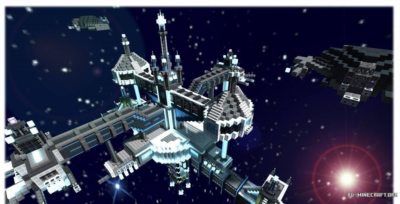Скачать карту на майнкрафт космическая станция