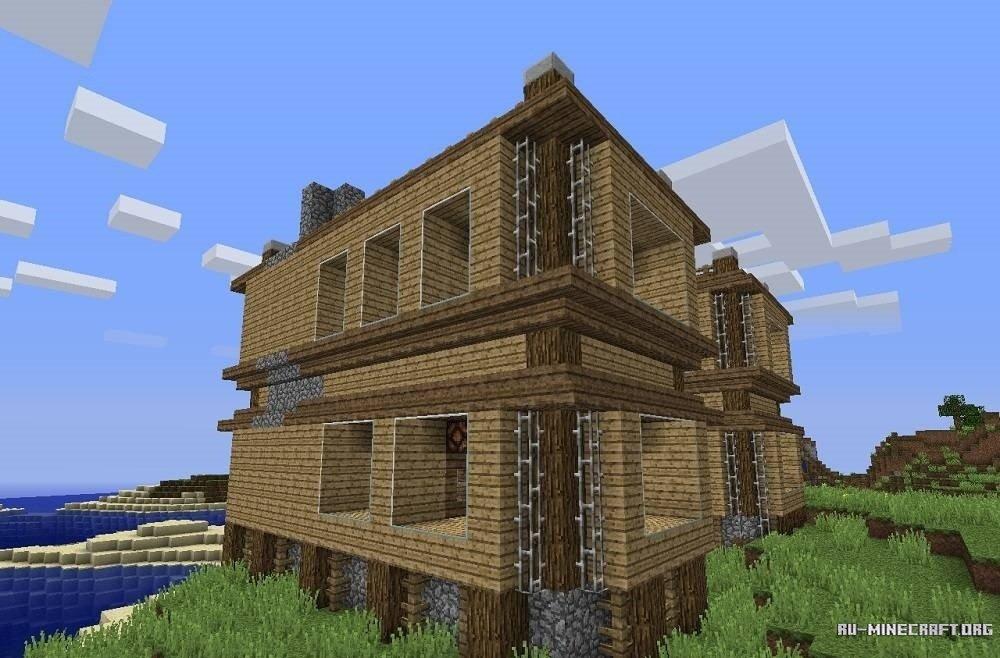 дом для выживания скачать карту