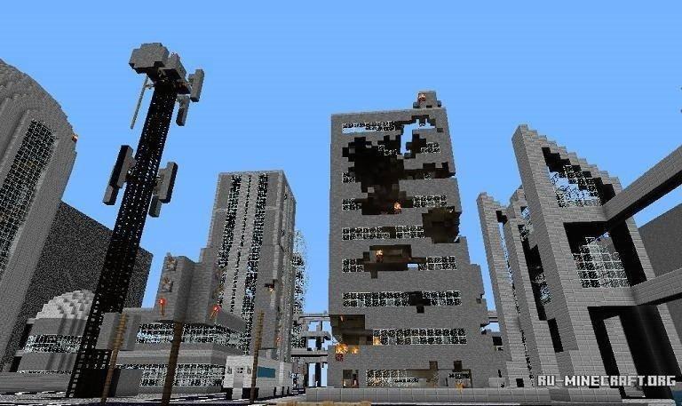 скачать карту для майна зомби апокалипсис - фото 10
