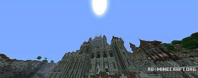 Карта Замка для Minecraft