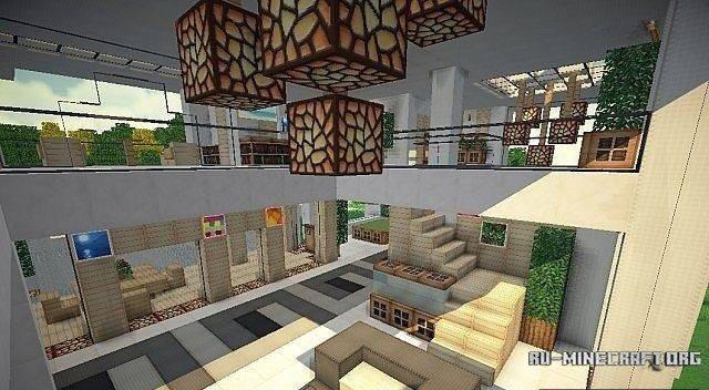 Карту модерн дом