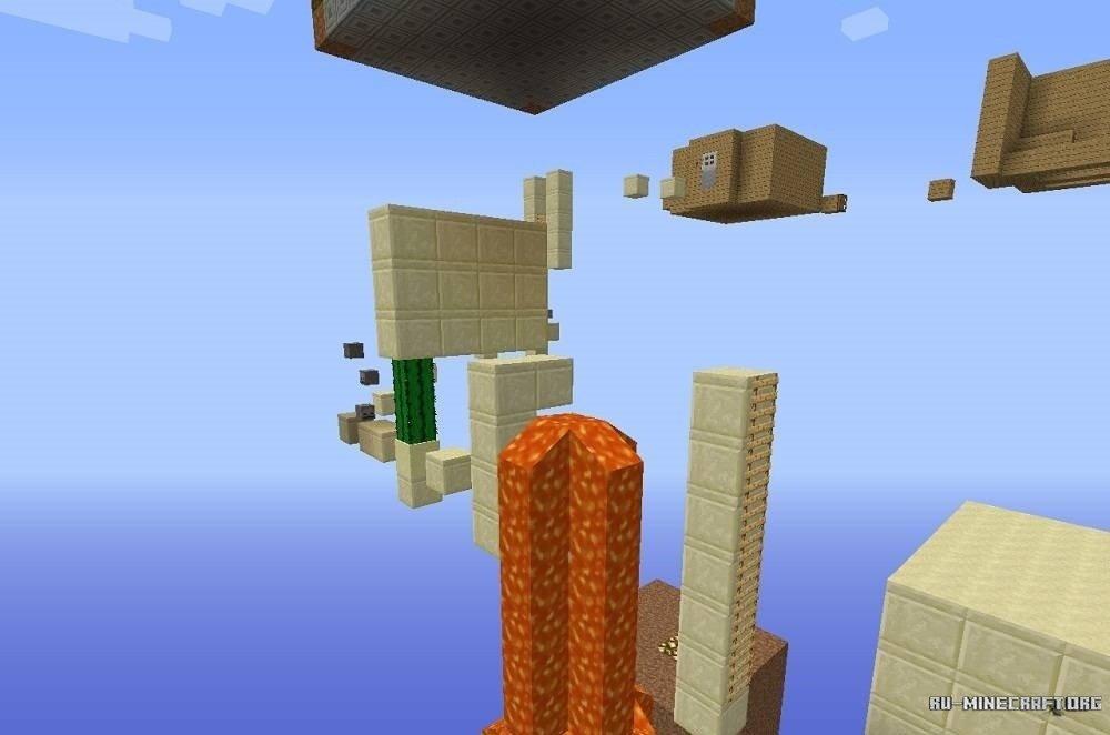 Скачать паркур карты для Minecraft