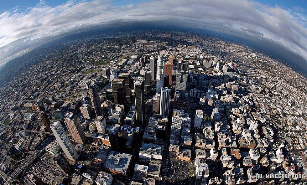 Скачать Карту Лос Анджелес для Майнкрафт