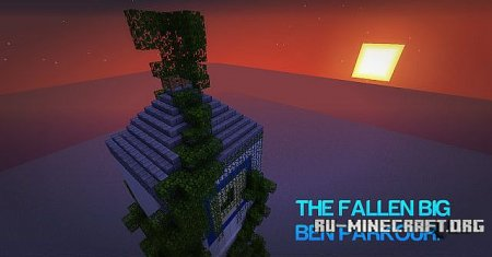 Скачать The Fallen Big Ben Parkour Tower для minecraft