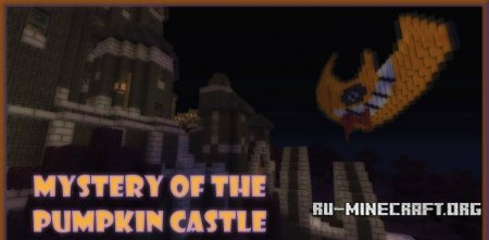 Скачать карту Mystery of the Pumpkin Castle для Minecraft