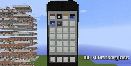 ������� ����� ������� iPhone 5 ��� Minecraft