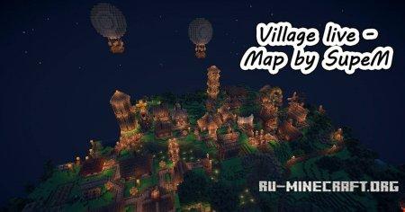 Скачать карту Village Live для Minecraft