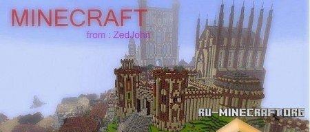 Скачать карту The Havanna Great Castle для Minecraft