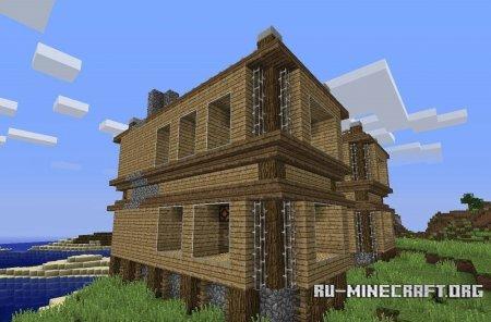 Карту дом для выживания для minecraft