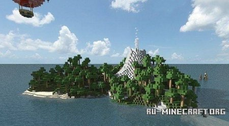 ������� ����� Tropical Islands ��� Minecraft