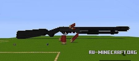 Скачать карту Remington 870 that fires TNTдля Minecraft