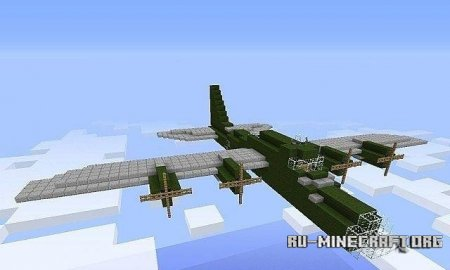 Скачать карту Boeing B-17 Flying Fortress для Minecraft