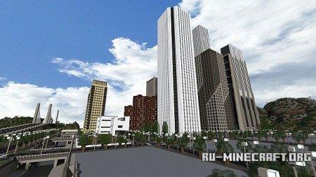 Скачать Seviat-City[64x] для Minecraft 1.6.4