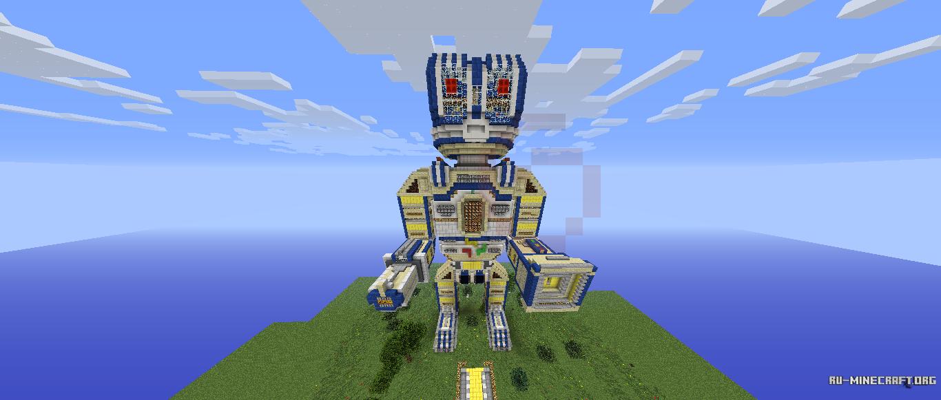 Скачать карту для minecraft 1.7.2 загадочная башня - e