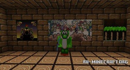 Скачать Yoshi's Island Pack для Minecraft 1.5