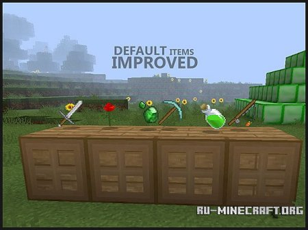 Скачать DTI Resource Pack для Minecraft 1.7.2