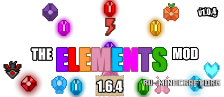 ������� The Elements Mod ��� minecraft 1.6.4