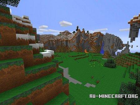 Скачать Spring Forests для Minecraft 1.7.2