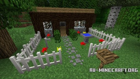 Скачать MrCrayfish's Furniture Mod для Minecraft 1.6.4