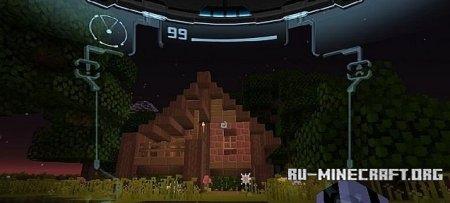 Скачать текстур пак Metriod Prime для minecraft