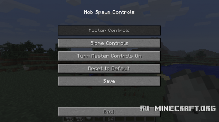 ������� Mob Spawn Controls ��� Minecraft 1.6.4