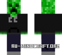 ������� Creeper hooded ��� minecraft