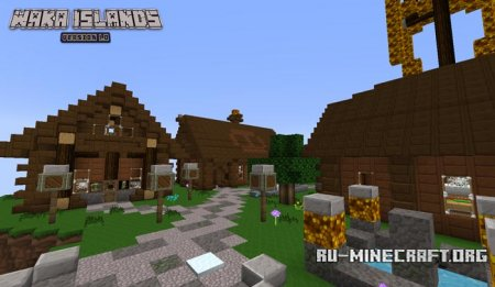 ������� ����� Waka Islands  ��� Minecraft