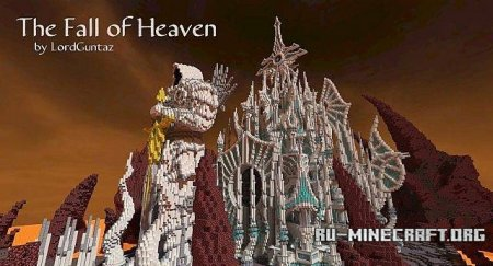 Скачать карту The Fall of Heaven для Minecraft