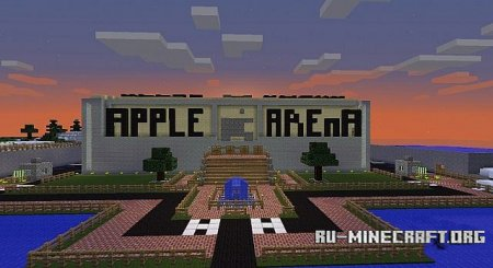 Скачать Minecraft Hockey Arena для minecraft