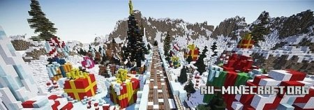 ������� ����� Christmas Town ��� Minecraft