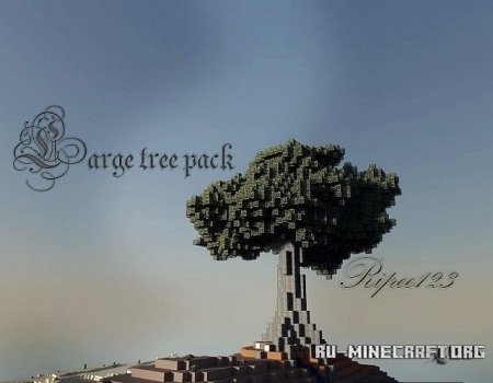 ������� ����� Large tree ��� Minecraft