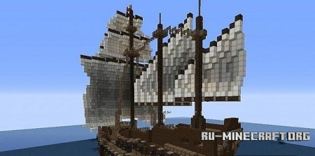 Скачать карту English Galleon  для Minecraft
