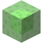 Блок слизи в Minecraft