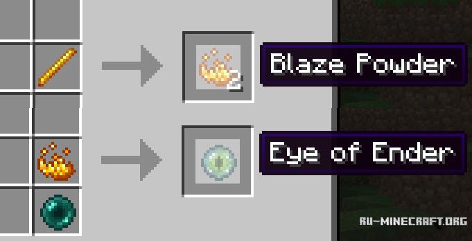 Как сделать эндер глаза