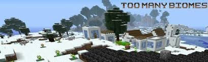 ������� Too Many Biomes ��� minecraft 1.6.2