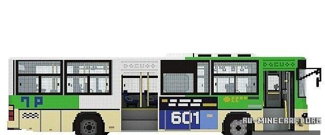 скачать карту автобус для майнкрафт - фото 6