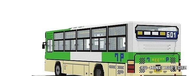 скачать карту автобус для майнкрафт - фото 8