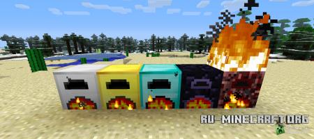 Скачать More Furnaces для minecraft 1.5.1