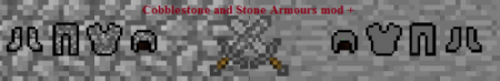 Скачать Cobblestone And Stone Armour для minecraft 1.6.2