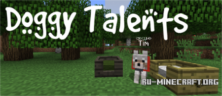 Скачать Doggy Talents для Minecraft 1.6.4