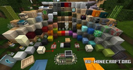 Скачать Flows HD Minecraft 1.7