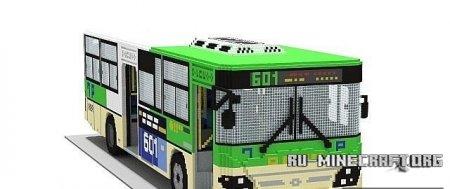 Скачать карту Bus для Minecraft