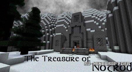 Скачать карту Сокровище Ногрода для Minecraft