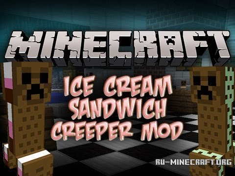 Мод You Are The Creeper Для Minecraft 1.7.2