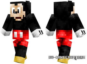������� ���� Mickey Mouse ��� minecraft