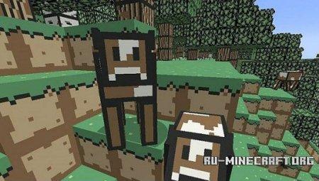 Скачать Retro 8-bit [8x] для minecraft 1.7.4
